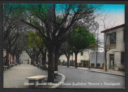 CERRETO LAZIALE PIAZZA GUGLIELMO MARCONI VG. 1959 ROMA N° B961 - Altre Città