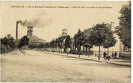 Winterslag Vue Du Boulevard à Proximité Du Charbonnage Circulée En 1940 - Genk