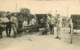 270821 - CARTE PHOTO BELGIQUE - Camp Militaire D'Elsenborn - Canon - Butgenbach - Bütgenbach