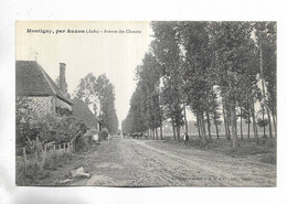 10 - Montigny, Par Auxon ( Aube ) - Avenue Des Chanets - Other Municipalities