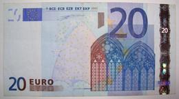 SPAGNA 20 EURO M010/V DUISENBERG  CIR. - 20 Euro
