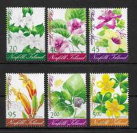 NORFOLK ISLAND * 2002 * Complete Set 6 Stamps * CTO - MNH** Flowers Of Phillip Island - Mi.No 793-798 - Norfolk Island