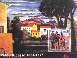 NB - [38000]TB//ND/Imperf-Tchad 2002 - ND/Imperf - Célébrité, Peintre - Pablo Picasso. - Autres