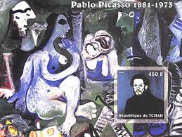 NB - [38012]TB//ND/Imperf-Tchad 2002 - ND/Imperf - Célébrité, Peintre - Pablo Picasso. - Autres