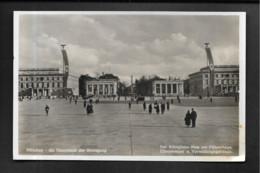 München / Hakenkreuzfahnen Koniglicher Platz - Guerre 1939-45