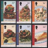 Isle Of Man 2001 - Mi-Nr. 932-937 ** - MNH - Landestypische Spezialitäten - Man (Eiland)