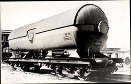 CPA Deutsche Eisenbahn, Druckgaskesselwagen Für Propan, BP - Treinen