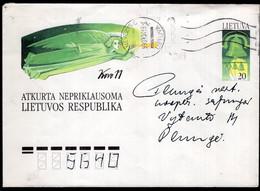 Lietuva - 1993 - Lettre - FDC - Timbre Diverse - Enveloppe Thématique - A1RR2 - Lithuania