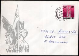 Lietuva - 1991 - Lettre - FDC - Timbre Diverse - Enveloppe Thématique - A1RR2 - Lithuania
