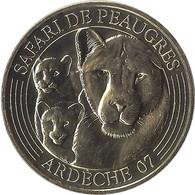 2021 MDP248 - PEAUGRES - Safari De Peaugres 8 (lionne Et Ses Petits) / MONNAIE DE PARIS 2021 - 2021