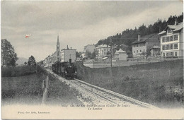Chemin De Fer PONT BRASSUS.Vallée De Joux.Le Sentier - VD Vaud