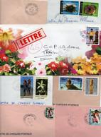 Lot De 10 Lettres - POLYNESIE FRANCAISE - - Non Classificati
