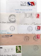 Lot De 8 Lettres - Bureau Postal Militaire - - Bolli Militari A Partire Dal 1940 (fuori Dal Periodo Di Guerra)