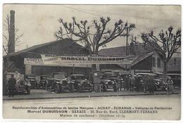 CLERMONT FERRAND (63) - GARAGE Marcel DUBUISSON - ACHAT - ECHANGE - 24, Rue Du Nord - VOITURES - AUTOMOBILES - Clermont Ferrand