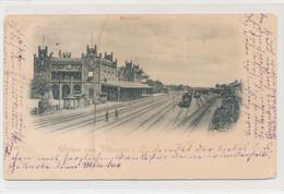 AK 1898 Preußischer Staatsbahnhof Bahnhof Minden Weser - Minden