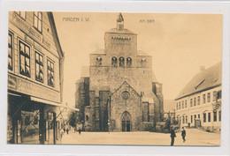 AK Um 1910 Kleiner Domhof Belebt Fotogeschäft Kommandantur Dom Minden - Minden