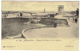Egypte - ALEXANDRIE - Casino De Mex, île De Syrène - Ed. Khardiache F., N° 1004 - Alexandria