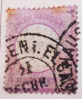 ALLEMAGNE Empire _ 1872 _ Y&T N°13 _ 1/4 Gr. Violet - (Aigle En Relief - Gros écusson) /0/ - Oblitérés