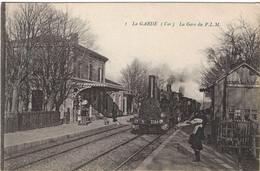 Cpa LA GARDE - La Gare Du P.L.M        Etat Comme Neuve - La Garde