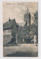 AK Um 1910 Marienkirche Von Nordost Fachwerkhaus Minden Weser - Minden