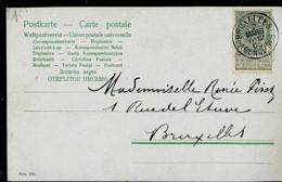 Carte Fantaisie; Obl. BRUXELLES  - AGENCE N° 3 Du  02/03/1905 - Sonstige