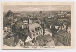 AK Um 1915 Obermarktstraße Aus Der Vogelschau Minden Weser - Minden