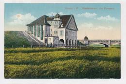 AK Um 1915 Pumpwerk Minden Mittelland-Kanal Weser - Minden