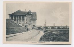 AK Um 1920 Pumpwerk Minden Mittelland-Kanal Weser - Minden