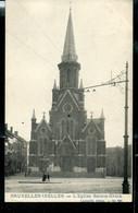 CP ( Ixelles: L'Eglise Sainte-Croix) Obl. BRUXELLES ( NORD ) - MANDATS Du 22/05/?? - Landpost (Ruralpost)