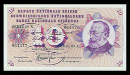 # # # Banknote Schweiz (Switzerland) 10 Franken 1973 UNC # # # - Switzerland