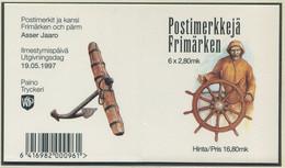 FINNLAND / MiNr. 1385 - 1390 / Markenheft 46 / Segelschiffe / Postfrisch / ** / MNH - Ships