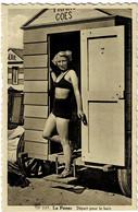 La Panne Départ Pour Le Bain Circulée En 1947 - De Panne