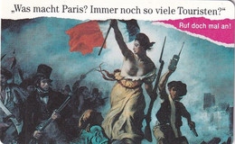 GERMANY(chip) - Was Macht Paris?(A 37 B), Tirage 40000, 11/91, Mint - A + AD-Serie : Pubblicitarie Della Telecom Tedesca AG