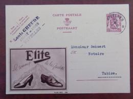"""EP Belgique Publibel 358 """" Chaussures Elite """" - Nivelles 1939 - Publibels"""
