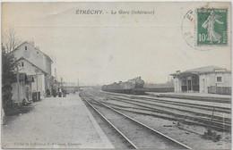 étréchy - La Gare Avec Train - Etrechy