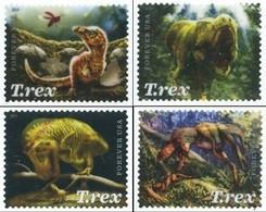 Etats-Unis / United States (Scott No.54101-13 - T-Rex) (o) Set - Used Stamps