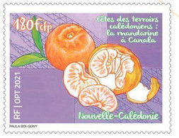 Précommande Timbre Mandarine Nlle Calédonie - Unused Stamps