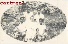 PHOTOGRAPHIE ANCIENNE : ILE SAMOA OCEANIE ETHNOLOGIE ETHNIC MISSIONNAIRE OCEANIA SOMOAN SCHOOL DUMAS - Samoa