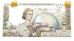Billet De 10000 Francs - Génie Français 1955 - 10 000 F 1945-1956 ''Génie Français''