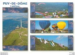 Photo Cpsm Cpm 63 LE PUY DE DOME. Mongolfières - Zonder Classificatie