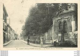 PHL 2 X Cpa 95 SAINT-LEU-LA-FORET TAVERNY. Fontaine Boissy Sur Grande Rue - Saint Leu La Foret