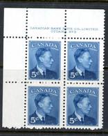 Canada MNH PB 1950 - Unused Stamps