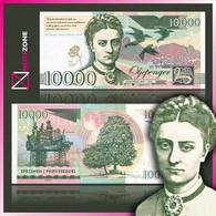 Matej Gabris 10000 Norway Test Private Fantasy Banknote Specimen - Norway