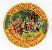 Aot21   37157      étiquette  Camembert  Le St Louis  37 D - Cheese