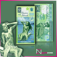 Matej Gabris PITCAIRN ISLANDS 10 Dollars Test Private Issue Fantasy Note - New Zealand