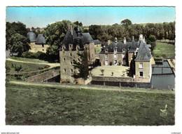 53 En Avion Au Dessus De MESLAY DU MAINE N°11 Le Château Des ARCIS - Meslay Du Maine
