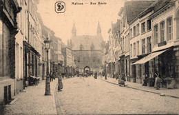 CPA - R - BELGIQUE - MALINES - RUE HAUTE - Malines
