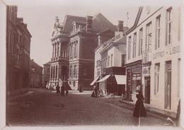 CINEY Photo Amateur De L'hôtel De Ville Vers 1900 Format Environ 8 X 4,5 Cm - Lieux