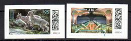 """Deutschland Mi. 3628-29** """"Steinböcke Und Frankfurt Westend"""" SK Postfrisch - Unused Stamps"""