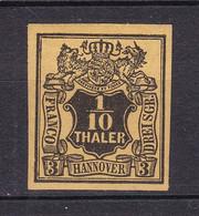 Hannover - 1851/55 - Michel Nr. 5 ND - Ungebr. - Hanover